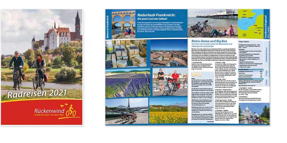 Rückenwind Radreisen Katalog