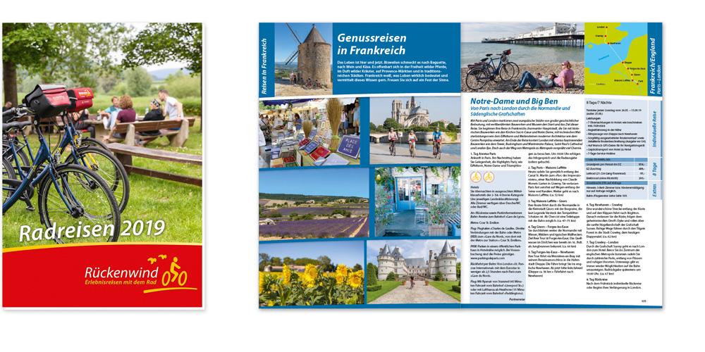 Rückenwind Reisen Katalog 2019