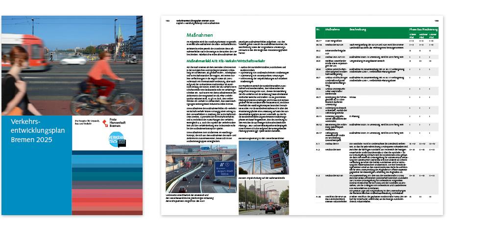 Stadt Bremen, Verkehrsentwicklungsplan 2025